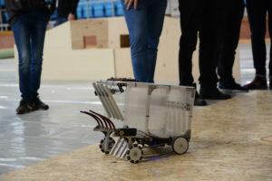 samotny robot naarenie testowej